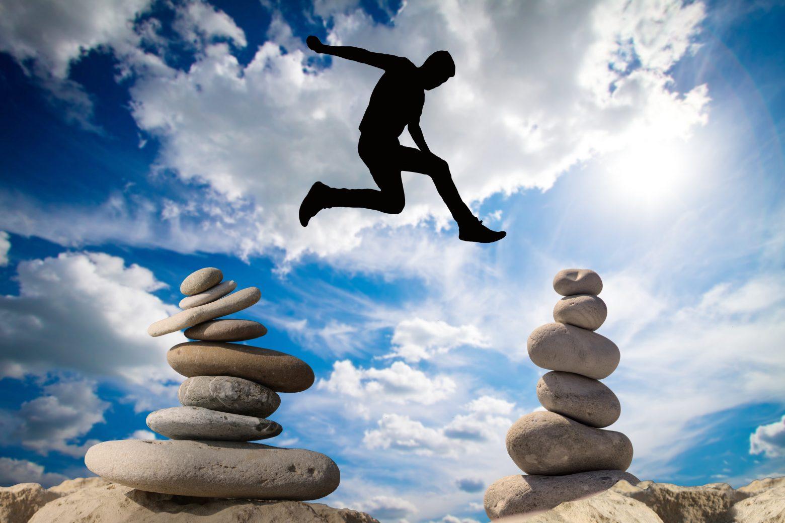 Balance Risk Courage Risky High Spirits Rock Sky – Clean Public Domain